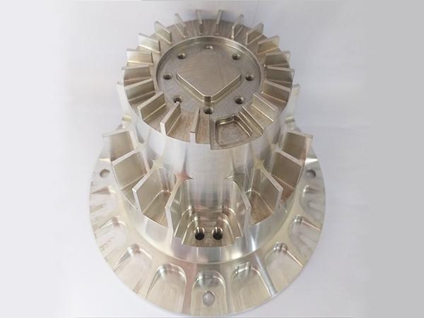 旋削加工A6061設備部品
